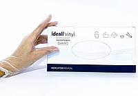 Перчатки виниловые Ideall Vinyl M нестерильные неопудренные (50 пар/уп)