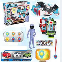 Робот Трансформер Тобот Дельтатрон с игровыми фигурками