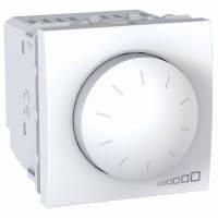Светорегулятор Unica (диммер) поворотно-нажимной белый. Цена розничная, оформляйте заказ и получите скидку!!!
