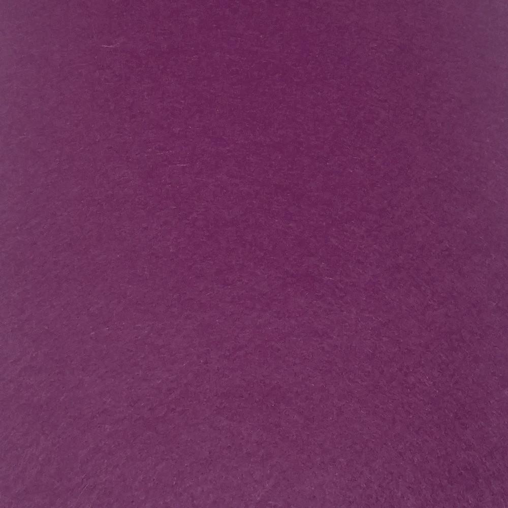 Фетр жесткий 2 мм, 50x33 см, ТЕМНО-ВИНОГРАДНЫЙ, Китай