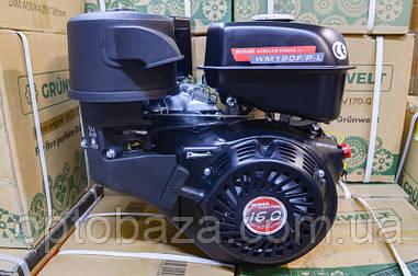Двигатель Weima GE 190 F-R (вал 25 мм, шпонка) 16,0 л.с. с редуктором