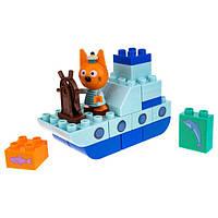 Игровой набор-конструктор Три кота Коржик на корабле (Т19755)