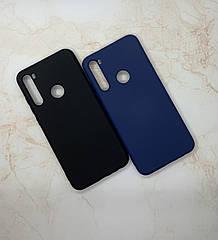 Чохол з мікрофіброю Xiaomi Redmi Note 8T оригінальний Silicone Case протиударний кольоровий