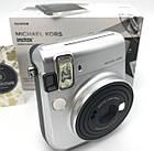 Фотокамера моментальной печати Fujifilm Instax Mini 70 EX D Silver Michael Kors Limited Edition, фото 2