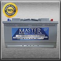Акумулятор Master 6CT-100-0 100Ah/800A R+ 0 (Майстер) ACO Group Автомобільний АКБ Кислотний Україна ПДВ