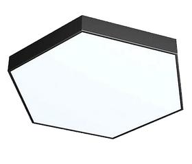 Світильник з Алюмінієвого LED Профілю Сота 120W 1000х800х60мм)