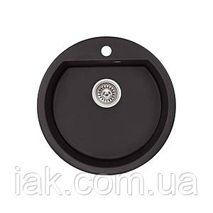 Кухонна мийка Qtap CS D510 BLA (QTD510BLA404)
