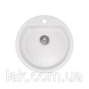 Кухонна мийка Qtap CS D510 WHI (QTD510WHI650)