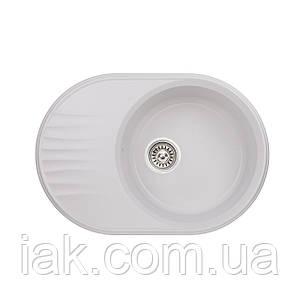 Кухонна мийка Qtap CS 7451 WHI (QT7451HI650)