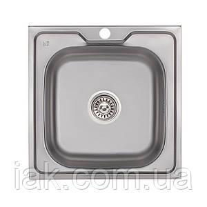 Кухонна мийка Lidz 5050 Decor 0,6 мм (LIDZ5050DEC06)