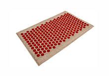 Массажный коврик Onhillsport Lounge Medium аппликатор Кузнецова 68 х 42 см Красный LS-1001-1, КОД: 311081