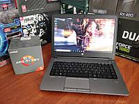 Бізнес Ноутбук HP ProBook A6-4400M/4GB/SSD/Гарантія! Відео огляд!