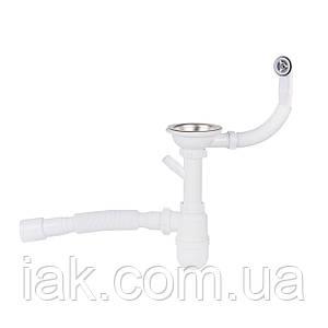 Сифон для кухонної мийки Lidz (WHI) 60 08 E001 01