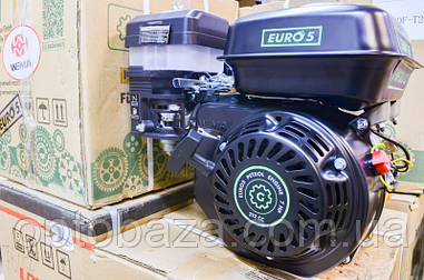 Двигатель Grunwelt GE 170 F-S (вал 20 мм, шпонка) 7,0 л.с. NEW EURO 5