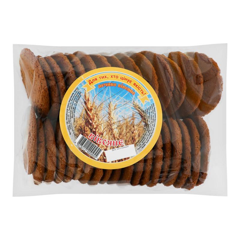 Печиво Вівсяне 0,4кг ТМ Ржищів
