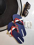 Женские вьетнамки, шлёпки Ipanema Kirey/blue with red Бразилия оригинал, фото 2