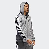 Худи Adidas T-MAC DU8309 Мужское Оригинальное Адидас Серого Цвета