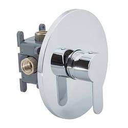 Скрытый смеситель для ванны/душа (круглый) CM-11.R-100-01