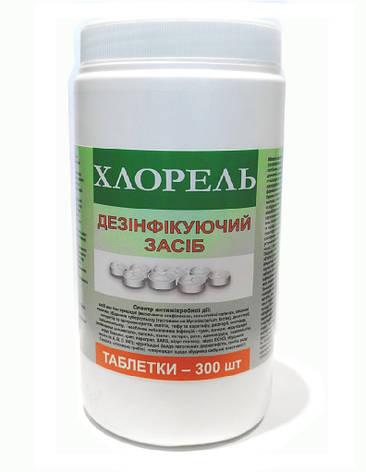 Хлорель, 300 в таблеток по 2,7 грамма, фото 2