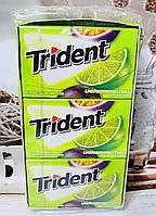 Блок жвачек без сахара Trident Lime Passion Fruit Лайм маракуйя, 168 шт
