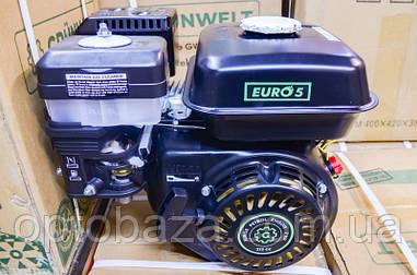 Двигатель Grunwelt GE 170 F-S (вал 19 мм, шпонка) 7,0 л.с. NEW EURO 5