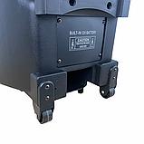 Портативная акустическая система 1500 Ватт Bluetooth, аккумулятор 2 беспроводных микрофона Su-Kam BT 150D, фото 6