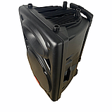 Портативная акустическая система 1500 Ватт Bluetooth, аккумулятор 2 беспроводных микрофона Su-Kam BT 150D, фото 9