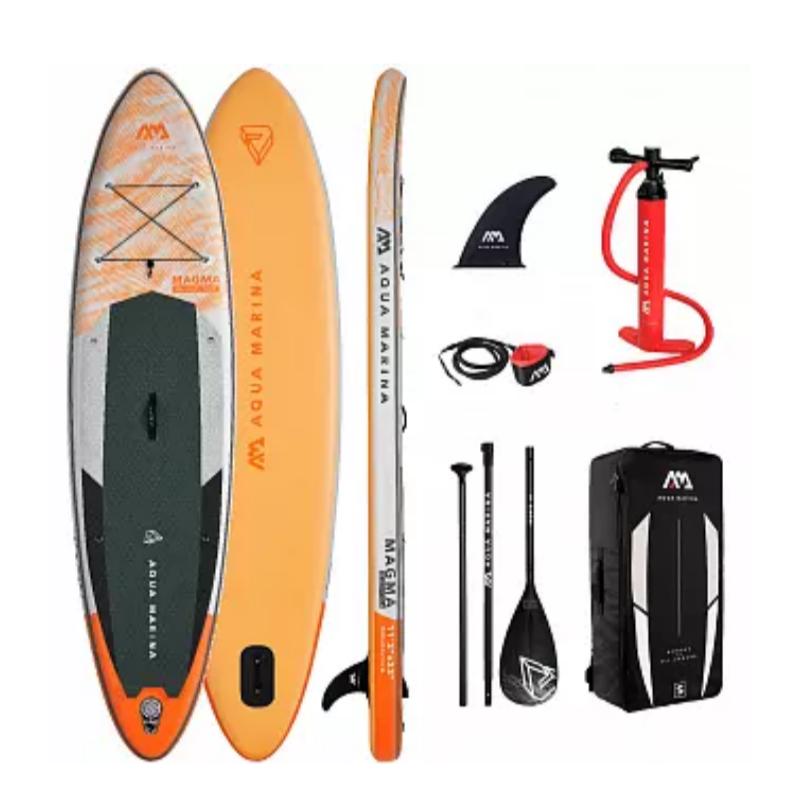 Сапборд Aqua Marina Magma 11'2 2021 - надувная доска для САП сёрфинга, sup board