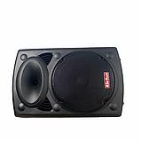 Портативная акустическая система 1500 Ватт Bluetooth, аккумулятор 2 беспроводных микрофона Su-Kam BT 150D, фото 10