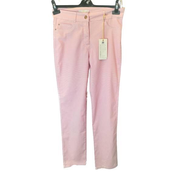 Летние женские брюки в клеточку размер 52-54, Хлопок, ТМ BI&KA, Турция