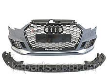 Передній бампер в стилі RS RS3 Audi A3 8V 2017-2020 рік S3 S line