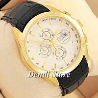 Часы Tissot quartz Chronograph Black/Gold/White
