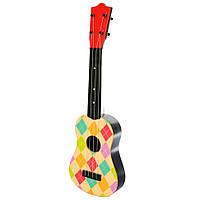 Дитяча Гітара 2508D в чохлі 57 см (Різнокольорові ромби)