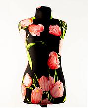 Манекен портновский Любовь 42 размер в чехле с тюльпанами