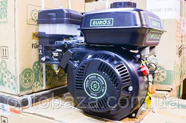 Двигатель Grunwelt GE 170 F-T (вал 25 мм, шлицы) 7,0 л.с. NEW EURO 5