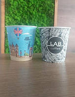 Стакан паперовий чайний 50шт 250мл МІХ 50шт/уп