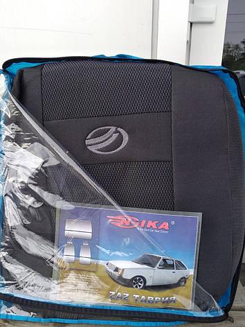 Чехлы ЗАЗ ZAZ Таврия (Nika) авточехлы неа сиденья, фото 2