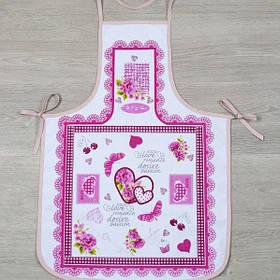Фартук Lotus Style - Romance FK-01 светло-розовый