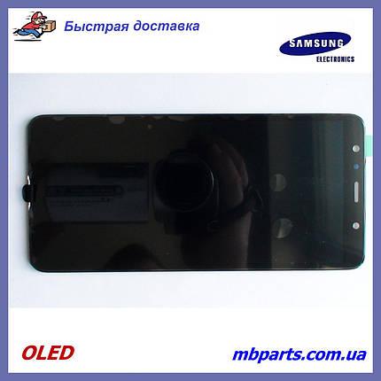 Дисплей з сенсором Samsung A750 Galaxy A7 2018 OLED Black!, фото 2