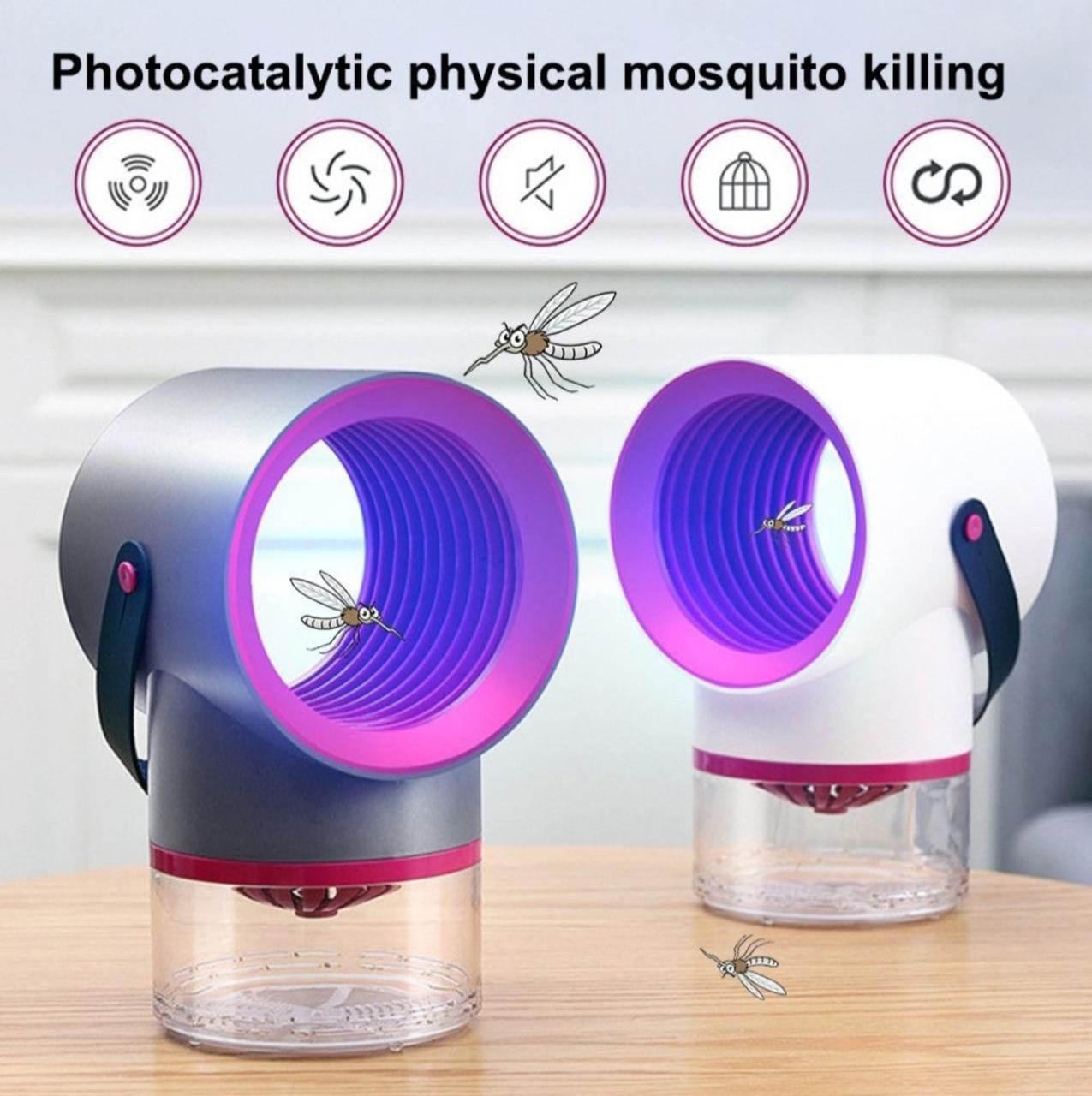 Светодиодная лампа-убийца от комаров Tinkleo Household Mosquito Killer | Лампа-ловушка для насекомых