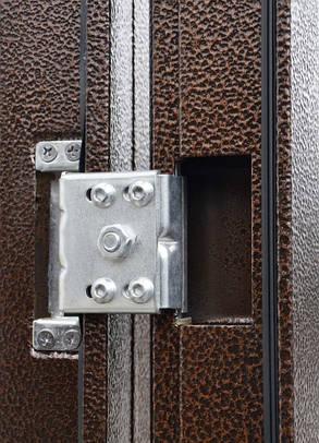 Китайские металлические входные двери ТР-С 143 утепленные минватой наружные на улицу, фото 2