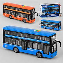 Автобус WY 912 AB (24) 2 вида, свет, звук, инерция, в коробке