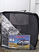 Чохли RENAULT Trafic II 1+2 2001- (Nika) авточохли Рено Трафік