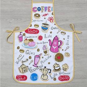 Фартук Lotus Style - Coffee shop FK-05 бежевый