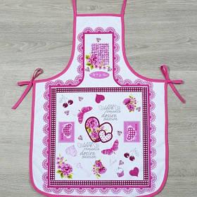 Фартух Lotus Style - Romance FK-08 рожевий