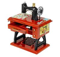 Винтажная музыкальная шкатулка (мини швейная машина) sartorius music box