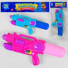 """Водный пистолет ТК 12455 (120/2) """"TK Group"""", с накачкой, 2 цвета, в кульке"""