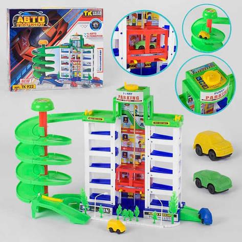 """Гараж TK 922 (12) """"TK Group"""", 4 машинки, аксесуари, в коробці, фото 2"""