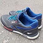 Кросівки Adidas р. 41 шкіра Харків темно-сині, фото 5