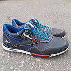 Кросівки Adidas р. 41 шкіра Харків темно-сині, фото 3
